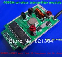 Дополнительный частота 4000 м беспроводной передатчик 315 мГц 433 мГц 260 мГц — 440 мГц