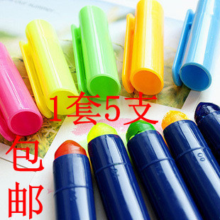1 set solid neon pen jelly chirography marking pen neon board pen