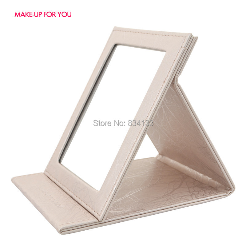 """Women Beauty Mini Travel Small Champine Makeup Cosmetic Mirror Collapsible Portable 5 Diff Colors - """"Beauty shop store"""