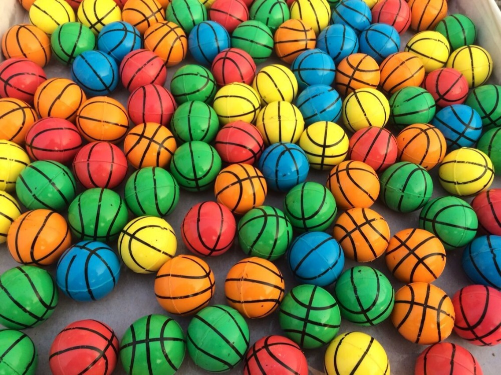 baby Toy Balls machine bouncing ball rubber ball Toy Sports Various basketball pattern(China (Mainland))