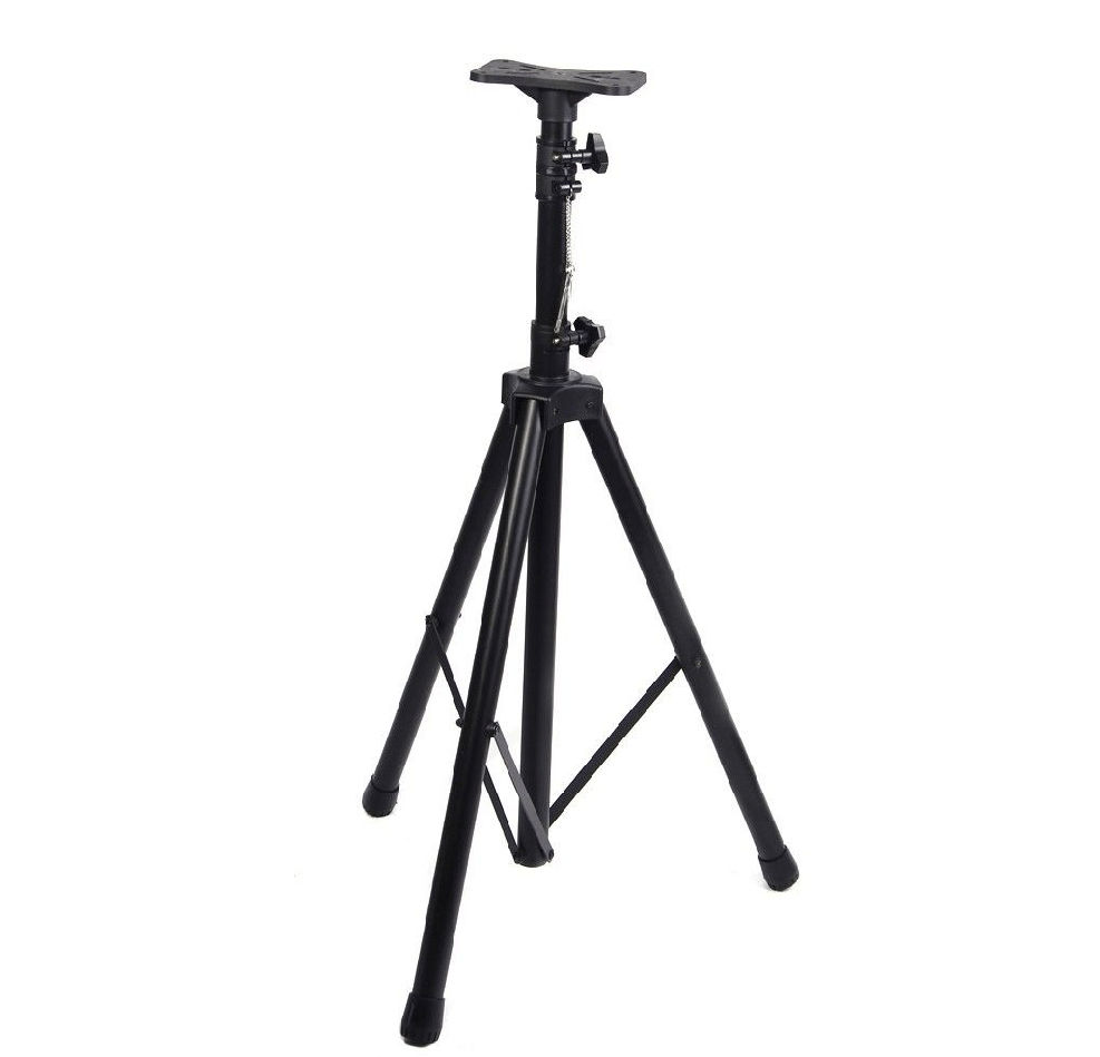 Heavy duty tripod dj audio pa pro speaker stand singele for Construction stand