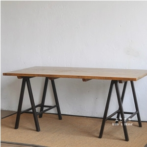 A shaped solid wood furniture export formwork tables work tables drafting table desk(China (Mainland))