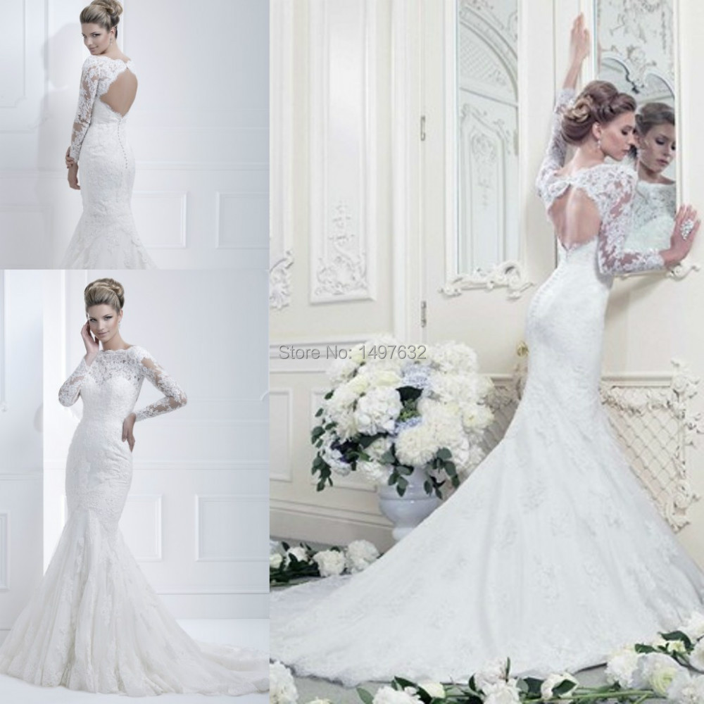 Popular long sleeve wedding dresses uk buy cheap long for Wedding dresses with sleeves uk