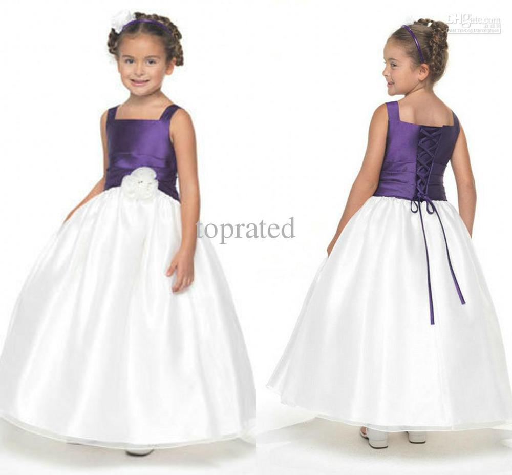 White and plum flower girl dresses gallery flower decoration ideas famous white and plum flower girl dresses collection images for perfect white dress with purple flowers izmirmasajfo
