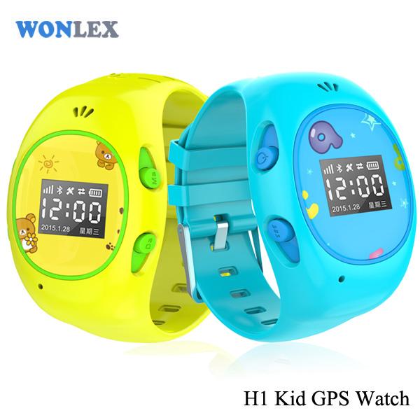 Wonlex Children GSM GPRS GPS WIFI Positioning Locator Tracker Anti-Lost Safe Kids GPS Watch for iOS Android Setracker APP(China (Mainland))