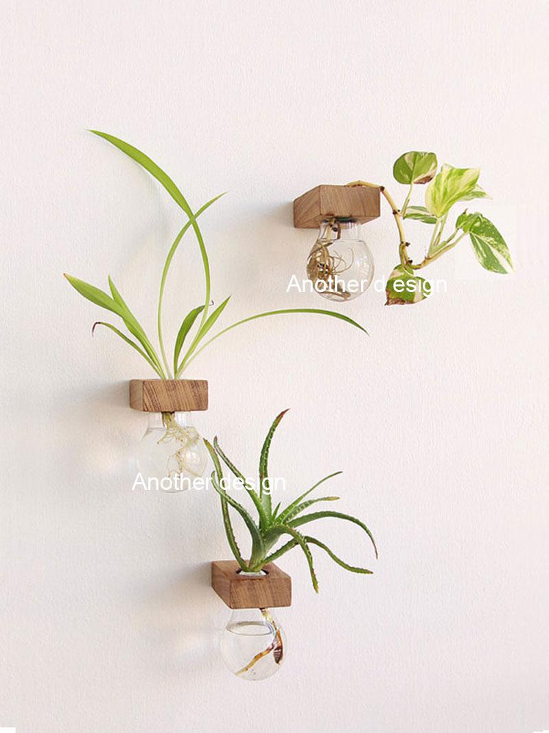 Popular hanging glass wall vase buy cheap hanging glass - Como decorar jarrones ...