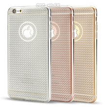 Luxury Ultra Thin Bling TPU Soft Mobile Phone Case For iPhone 6 6s plus 5.5 inch protective back Cover for Iphone 6 6s plus