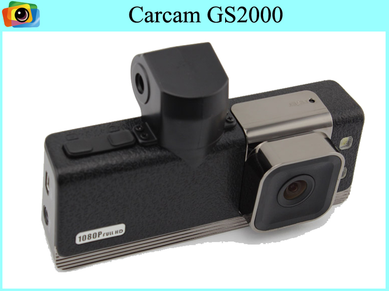 GS2000 Car DVR Full HD 1080P with high definition Video Recorder with GPS/GOOGLE MAP /G-SENSOR dash cam Free shipping(China (Mainland))