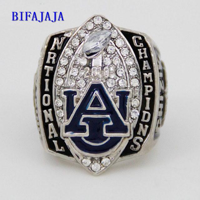 BIFAJAJA Drop Shipping NCAA 2010 harimau Auburn Football kejuaraan nasional championship ring collection Jewelry Statement(China (Mainland))