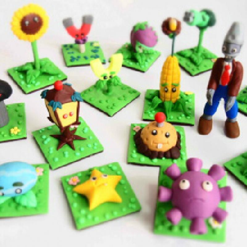 [해외]24X 다채로운 Playdough FIMO 효과 폴리머 클레이 블록 소..