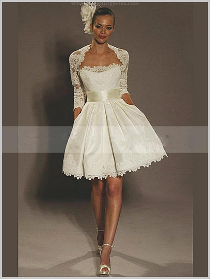 Short Mini Wedding Dresses - Ocodea.com
