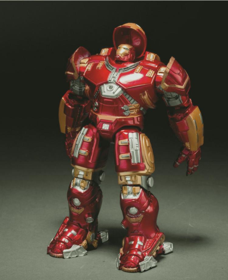 Hot LED TOYS 2015 movie avengers 2 Ultron light Iron man metal Mark 43 Hulkbuster Figure toys high quality dolls(China (Mainland))