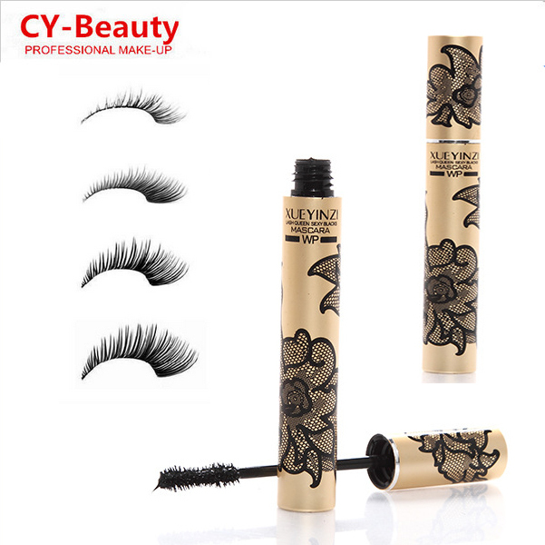 3pcs/lot Professional Makeup New Mascara Volume Curling Mascara With lace Design High Quality Sale<br><br>Aliexpress