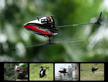 Free shipping Walkera  Mini CP helicopter 2.4Ghz 6ch 3D Flybarless Gyro  radio control ARF Helis Without transmitter gift