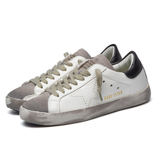 New Brand Designer 2016 Italy Golden Genuine leather Casual Men Shoes Goose All Sport Star Breathe Shoes Footwear Zapatillas(China (Mainland))
