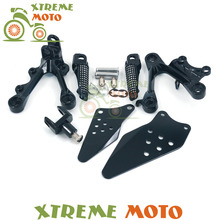 Buy Motocross Front Rider Footrests Foot Pegs Rests Pedals Tripod Brackets Mount Kawasaki ZX6R 2009-2012 09 10 11 12 for $8.99 in AliExpress store