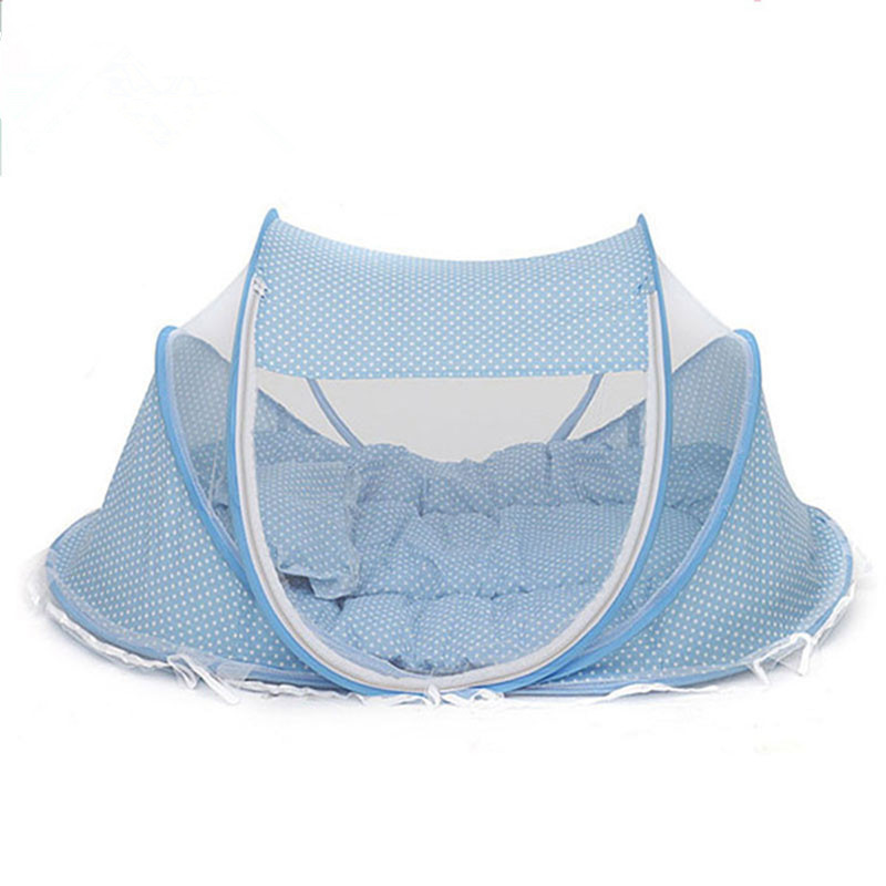 Instant Baby Infant Pop Up Mosquito Net Crib Beach Play Tent Bed Playpen Portable Foldable Travel (1)