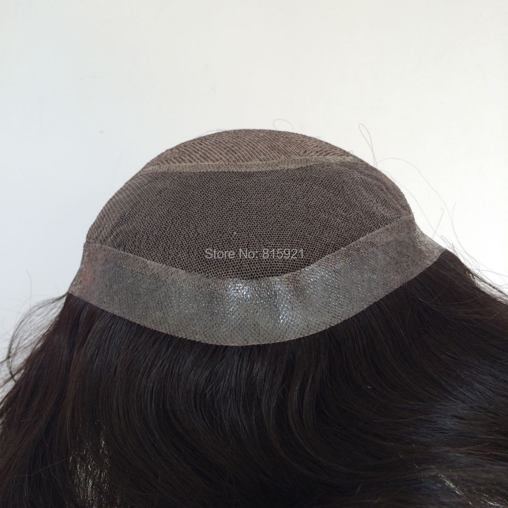 Silk Top Indian Hair Toupee Stock Sale - EJS Shop store