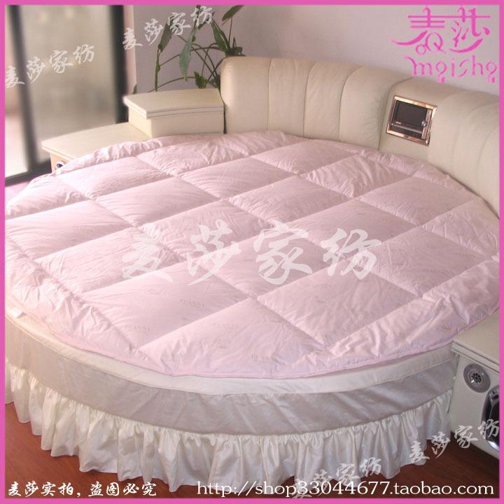 high grade round round bed mattress bedding wool mattress