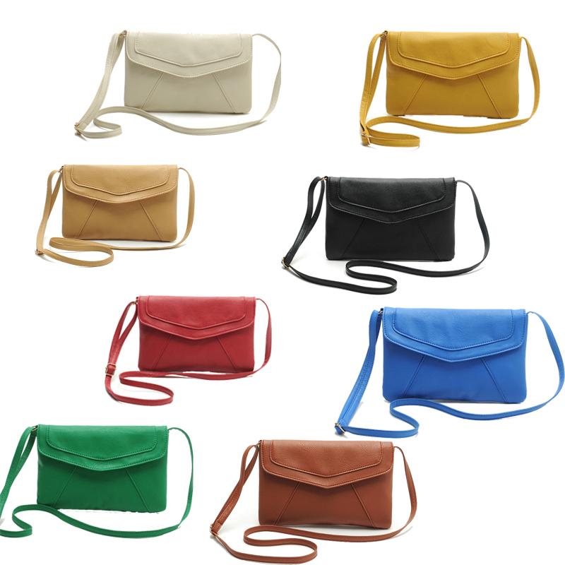 JECKSION crossbody bag,Vintage Womens Handbags Envelope Bags Cross Body Shoulder Bags Satchel Artificial Leather Handbags New(China (Mainland))
