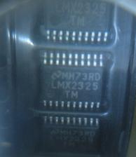 Free Shipping 5pcs/lot Patch LMX2325TM PLL frequency synthesizer LMX2325TMX  TSSOP-20  new original