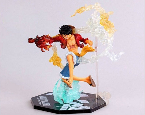 One Piece Monkey D Luffy Battle Ver. Figuarts Boxed PVC Action Figure Collection Model Anime Toy Gift 16CM Free Shipping(China (Mainland))