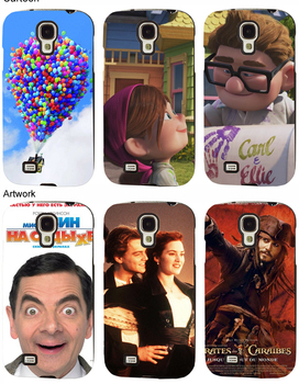 DIY Looks Personalized Custom Plastic Case Cover for Samsung Galaxy S 4 i9500, Ultra High Definition Printing Logo & Photo