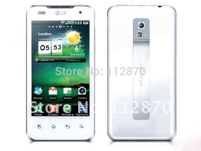 12 Months Warranty Original LG Optimus 2X P990 GPS WIFI 4.0 inch 3G 8MP 8GB Storage Unlocked Mobile Phones  Free Shipping