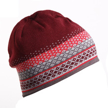2016 Fashion Unisex Men Women's Hat Winter Warm Outdoor Skiing Snowboard Warm Winter Knitted Beanies Skullies For Men Women
