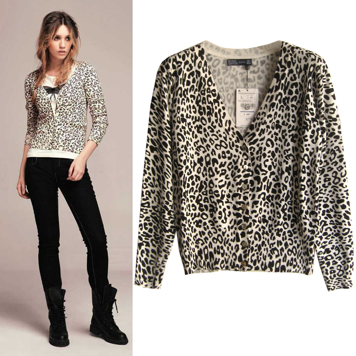 Shop our Leopard Cardigan at eternal-sv.tk Share style pics with FP Me, and read & post reviews. Free shipping worldwide - see site for details.