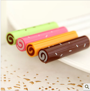 1 PCS Cute Kawaii Sweet Plastic Donuts Gel pen Lovely Korean Stationry For Kids Children School Supplies(China (Mainland))