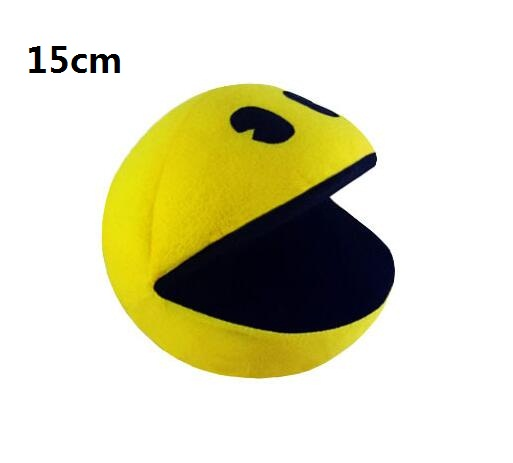 PIXELS Movie Pacman Stuffed Toy Doll Pac Man Pac-man Smiling face Plush Toys Q bert, Christmas gifts - happy baby... store