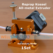 1Set DIY Reprap Kossel All-metal Remote Planet Reducer Motor Geared Bowden Extruder Alimunum alloy for 1.75mm 3mm 3D Printer