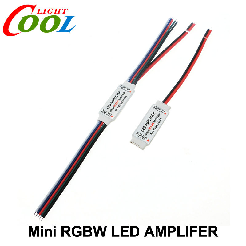 RGBW LED Amplifer DC5-24V 4A * 4 Channel LED Amplifier for RGBW LED Strip Power Repeater Console Controller.(China (Mainland))