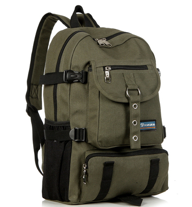 New Canvas Camping Backpack