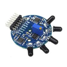 Buy Free 5 Way Flame Sensor Module Digital Analog Output arduino Raspberry pi for $1.46 in AliExpress store