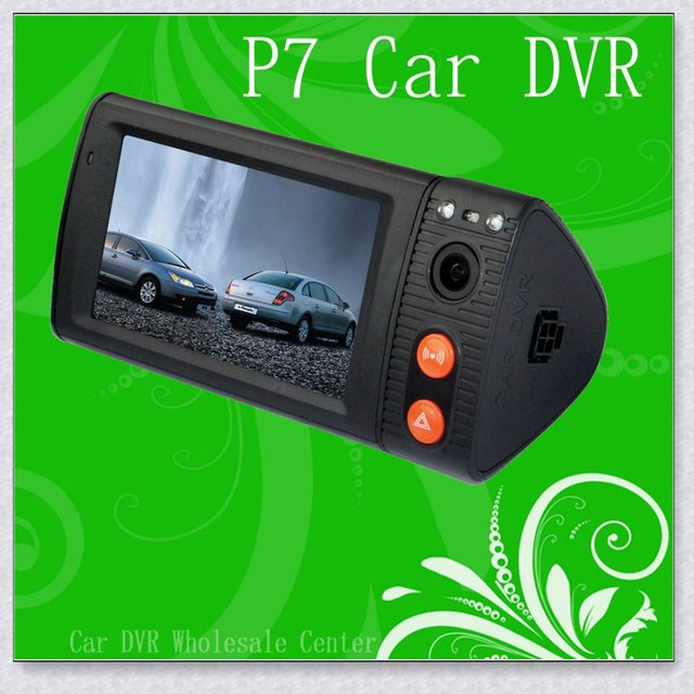 P7 Car DVR!Car camera Dual Lens,Touch screen,GPS,G-Sensor,P7-S1,Infrared photographic,Video encryption,Free Shipping