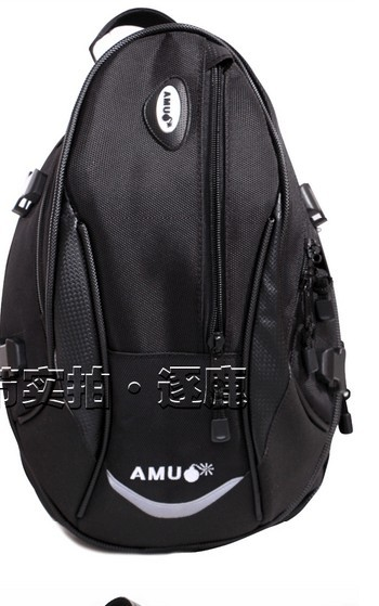 Motorcycle motorcycle tail end large capacity bag waterproof rain can be a single shoulder bag<br><br>Aliexpress