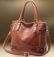 Hot Sale New 2015 Fashion Brand COMPOSITE GENUINE LEATHER Handbag Women Vintage Tote Cow Shoulder Messenger Bag DJ14(China (Mainland))
