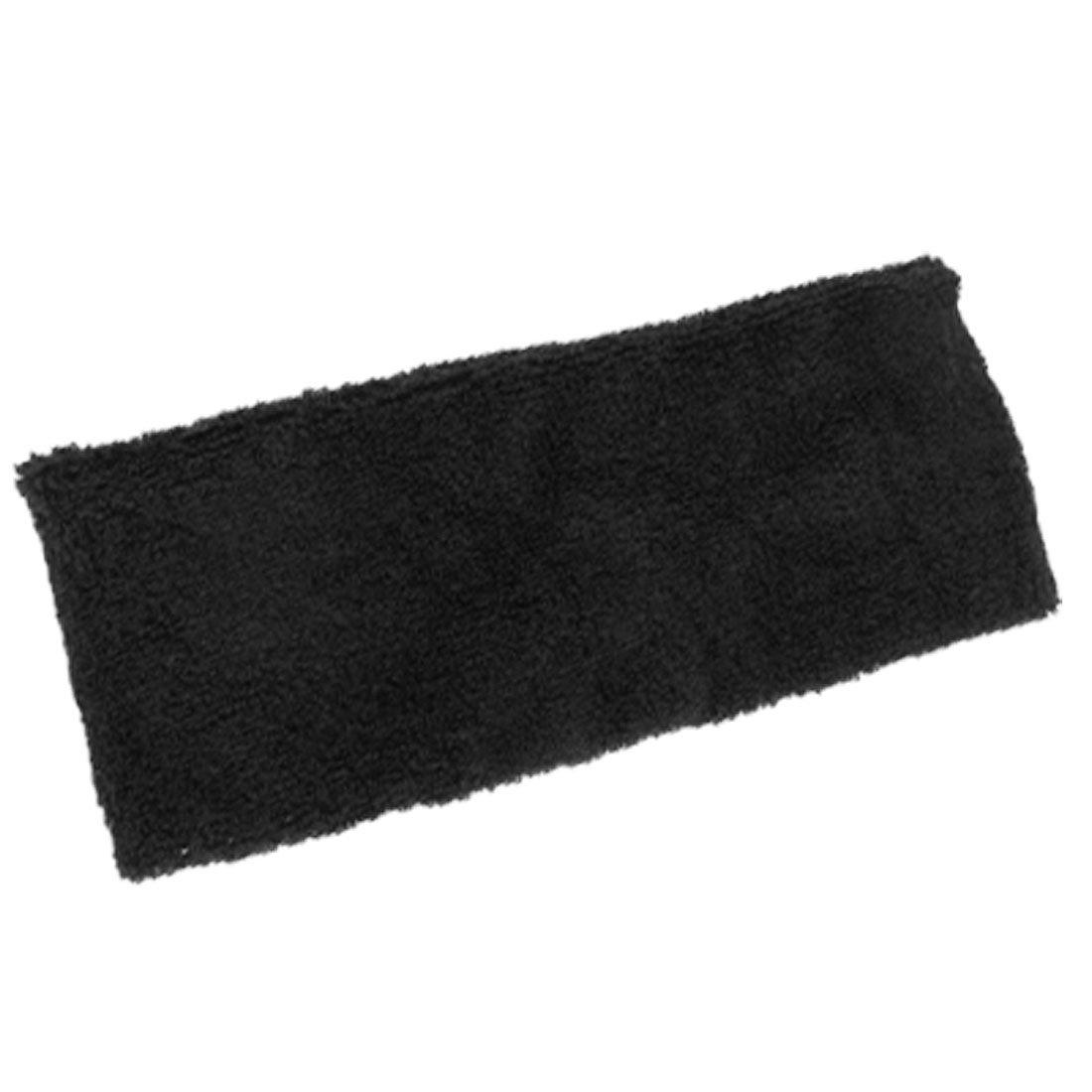 Wholesale 10PCs/Lot Protective Sports Support Soft Head Band Elastic Sweatband Black(China (Mainland))