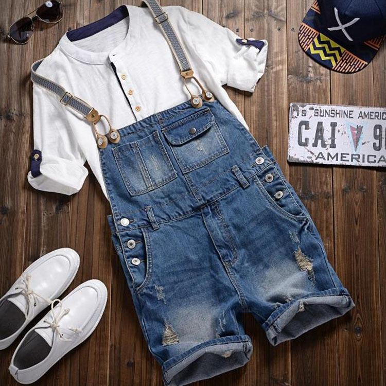 2013 new summer fashion mens short jeans denim hole free