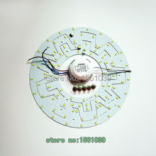 Free shipping.2sets/lot .12W -36W LED Ring gear Panel Circle Light SMD5630 5730 LED Round Ceiling board the circular lamp board.(China (Mainland))