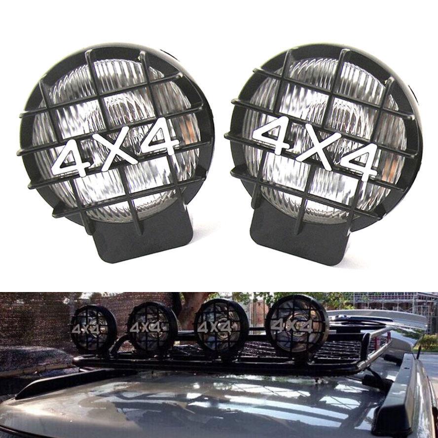 Здесь можно купить  Roof & Bumper Halogen Driving Fog Light Spot Lamp Fit For Jeep 4x4 Truck Pickup 2PC  Автомобили и Мотоциклы