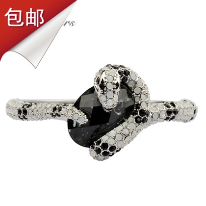 Accessories platinum star magazine crystal fashion vintage women's bracelet(China (Mainland))