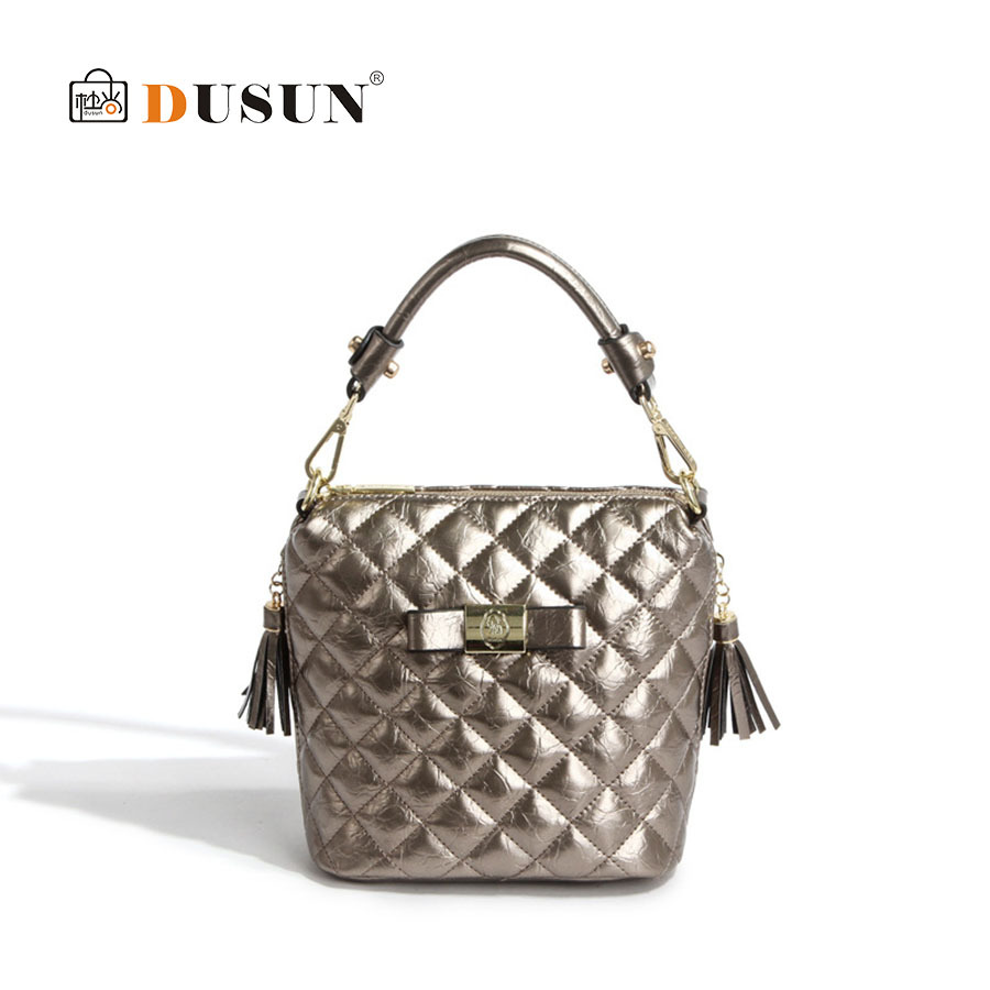 New Style! Portable Bucket Bag Vintage Women Fashion Bag Diamond Lattice Women Messenger Bag High quality new bolsa feminina BY9