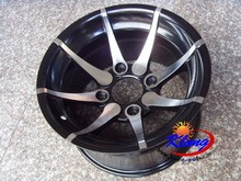 KLUNG new style aluminum alloy 12x6,12x8 rims in stock ! ATV ,quad  ,buggy ,all terrain rim only !!!!,(China (Mainland))