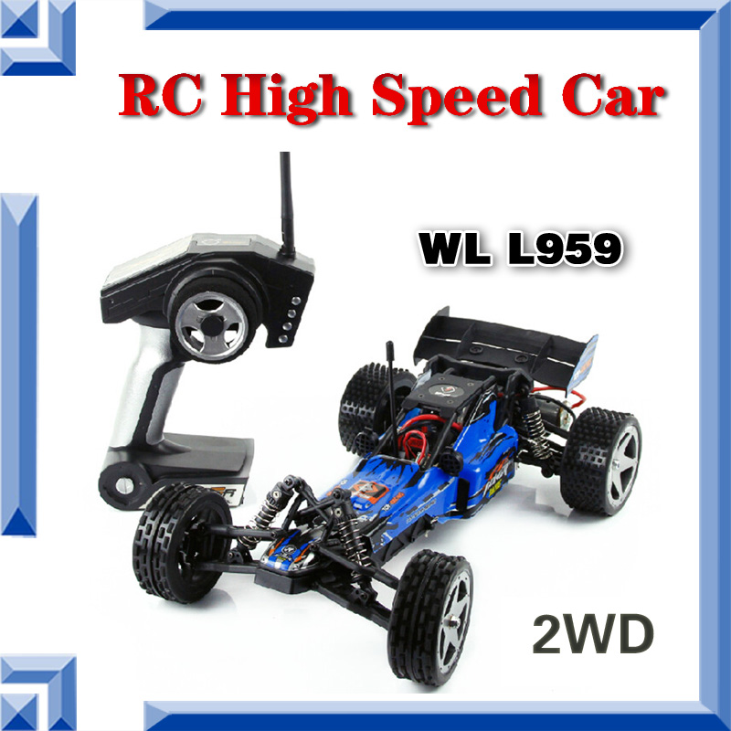 Free Shipping Wltoys L959 1:12 Off-road Scale 2.4GHz Remote Control Racing Brush Motor Car High Speed 40-50km/h Newest Bestest(China (Mainland))