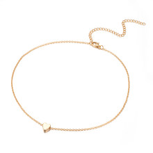 AILEND Fashion Multilayer Necklace and Ladies Pendant Girl Gold Silver and Necklace Long Necklace 2019 BOHO Ocean Jewelry(China)