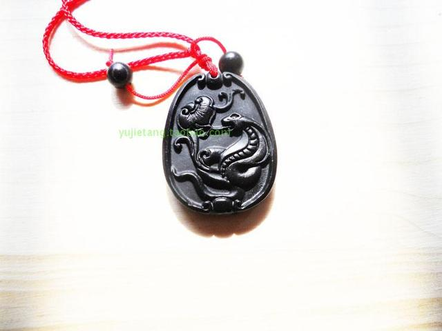 Jade zodiac pendant natural pendant