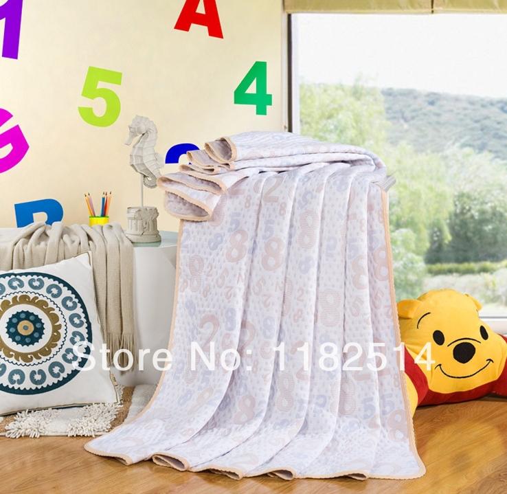 2014 new cotton towel moisture absorption heat and alkali digital towels blankets Free International Health(China (Mainland))